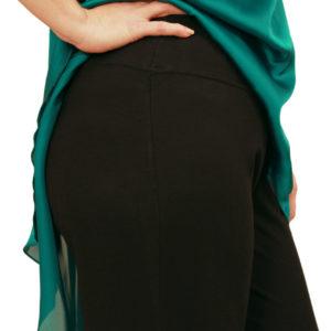 Παντελόνα μαύρη ελαστική
