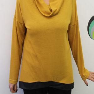 Κίτρινη μπλούζα χειμωνιάτικη